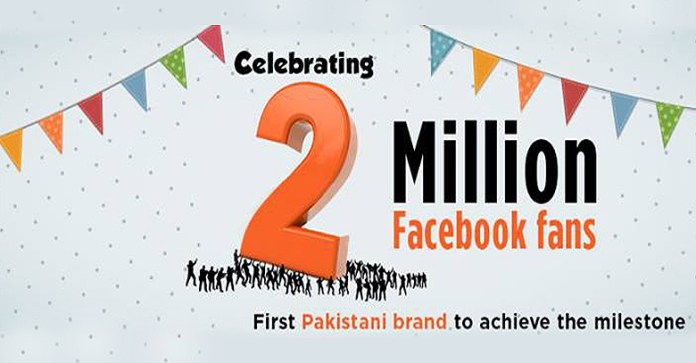 Ufone Becomes the First Local Brand to Surpass 2 Million Facebook Fans