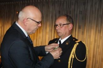 Frank van Thuijl 30 jaar vrijwilliger
