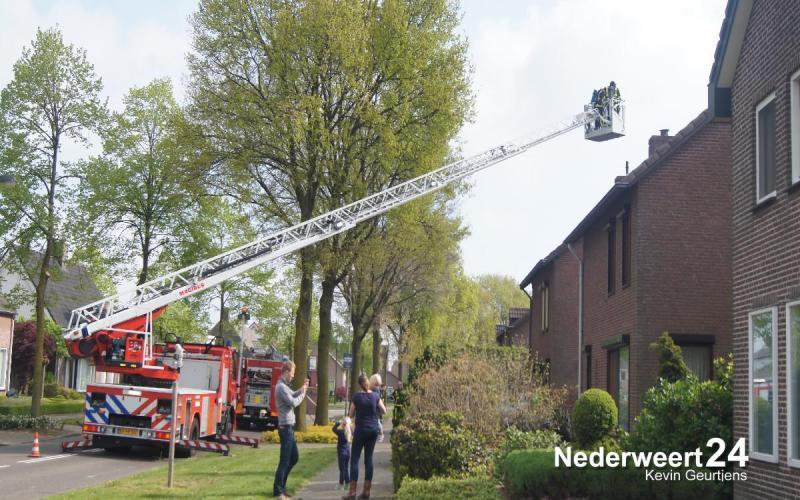 Schoorsteenbrandje Molenweg Nederweert