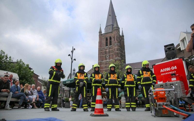 "Brandweer op ""Neewieert on Wiels 2016"""