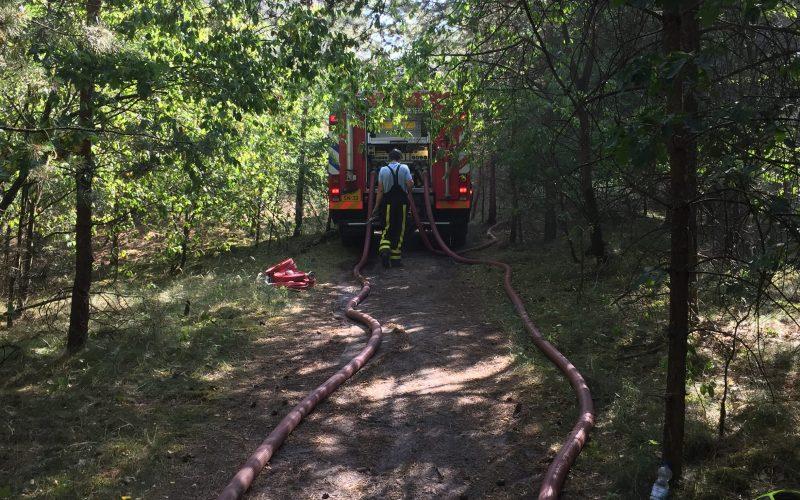 Brandweer Nederweert naar Budel voor zeer grote brand