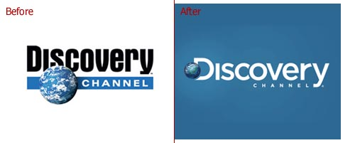 Discovery Channel Logo Change