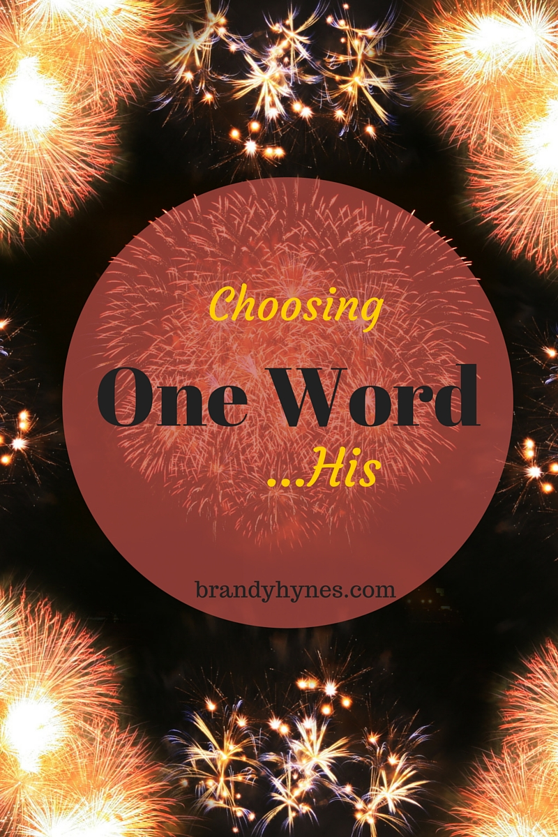 Choosing One Word