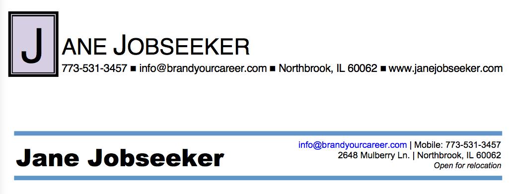 Font For Resume Header  latex templates deedy resume cv