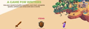 An Online Game for Writers