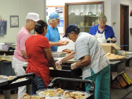 Preparing Lunch - Branson-Hollister Senior Center