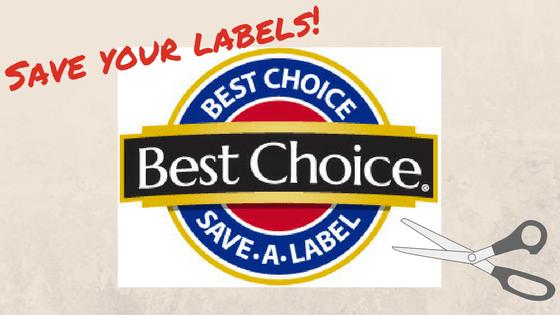 Fundraiser - Best Choice Labels - Branson-Hollister Senior Center
