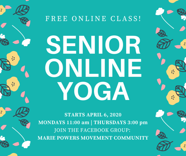 Free Online Senior Yoga Classes - Branson MO