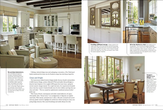 Cottage White Magazine