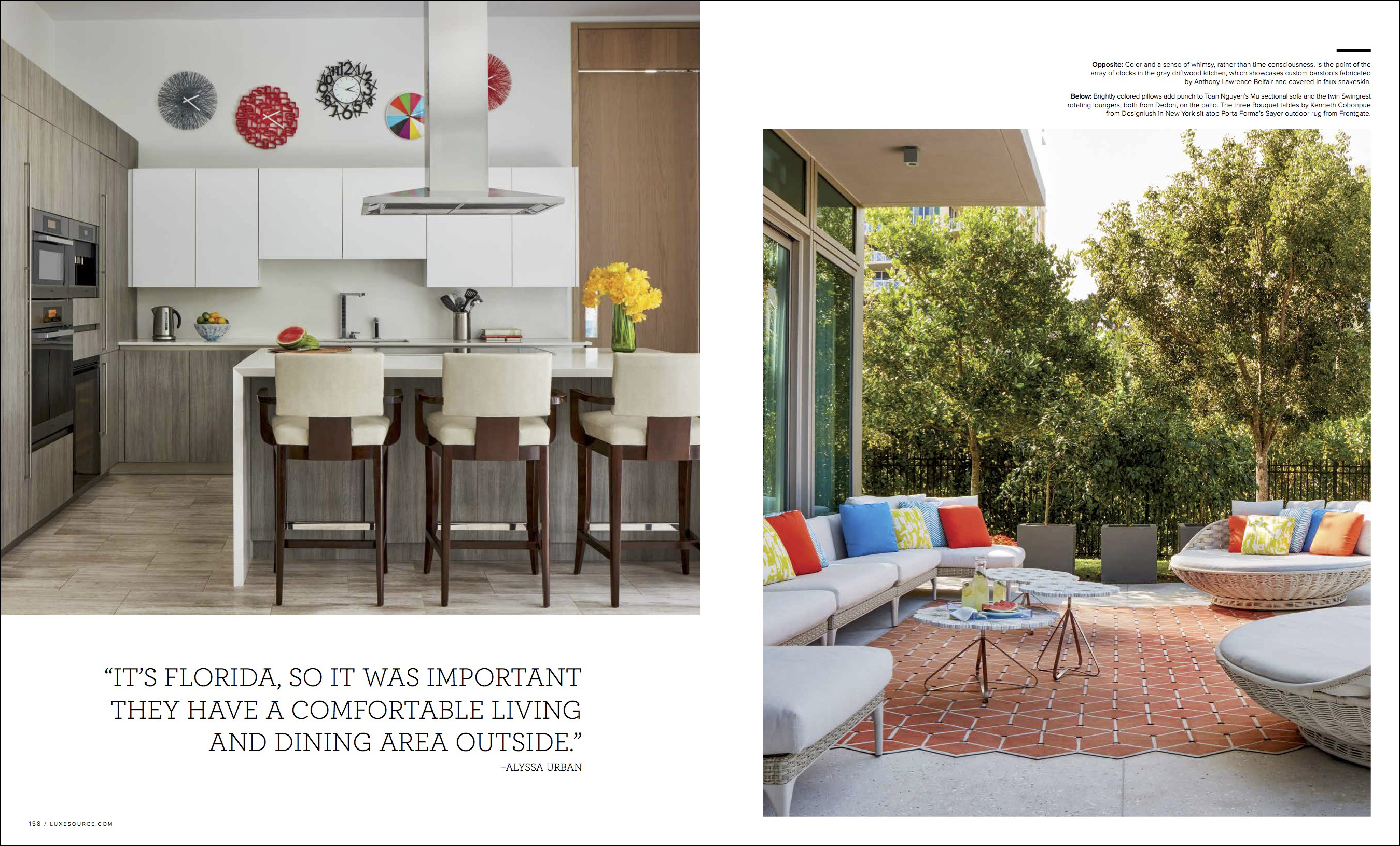 The Luxe Magazine Miami Cover For May June 2017 Features An Interior Design Project By Cullman Kravis New York We Were Thrilled When