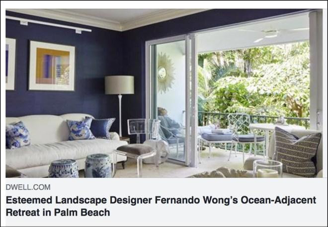 landscape designer Fernando Wong Palm Beach