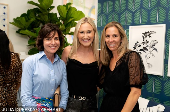 Camille Temples and Molly Brown from Ellen Kavanaugh Interior Design