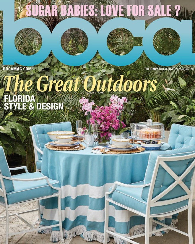 Boca Raton Magazine Cover