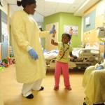 Förhistoriska krigare besökte barnsjukhuset i Lund