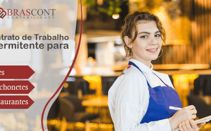 Contrato de trabalho intermitente para Restaurante, Bares e Lanchonetes