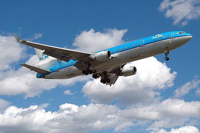 Avión de KLM.