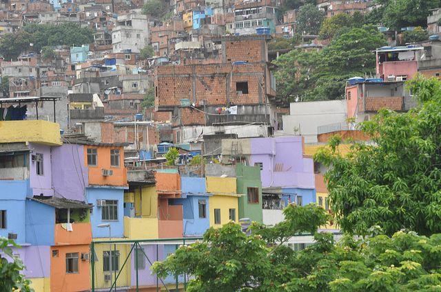 Favela en Rio de Janeiro.