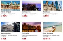 Promoções de férias na Americanas Viagens