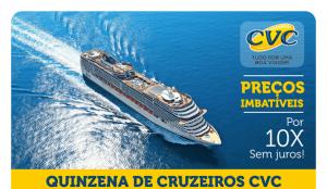 Cruzeiros Promocionais na CVC