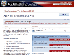 Tirar o Visto Americano - Site Oficial