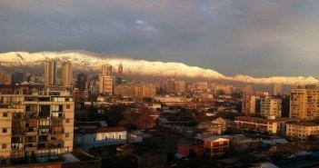 Temperaturas e chuva sem Santiago