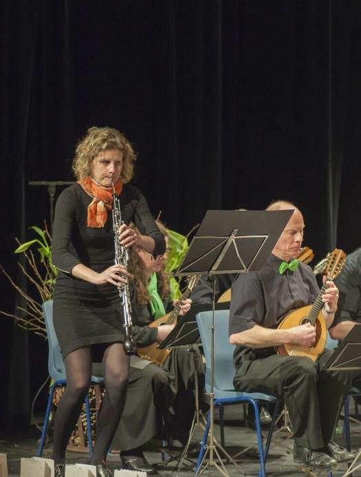 Karen Weckx, hobo Brasschaats Mandoline-Orkest 2