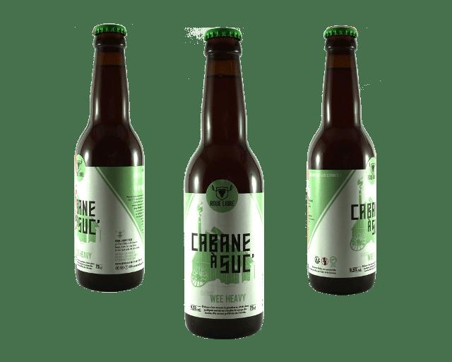 Bouteille bière Cabane à Suc