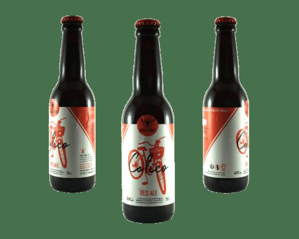 Bouteille bière Calico