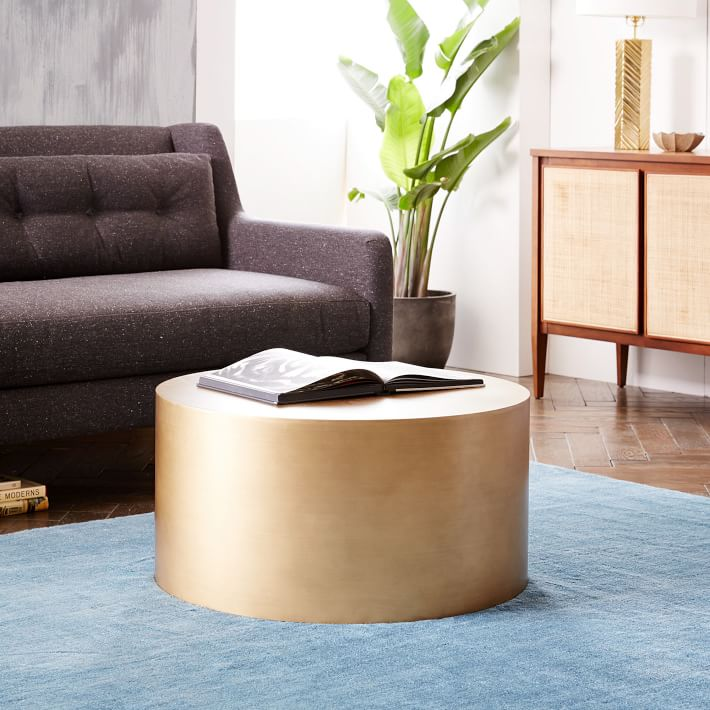 The Ultimate KidFriendly Coffee Table Brass Hill Design - Pottery barn vince coffee table