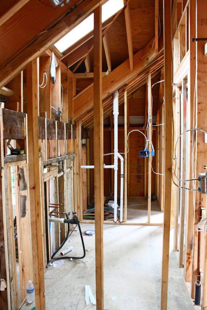 Brass Hill Design Masculine Bathroom Renovation
