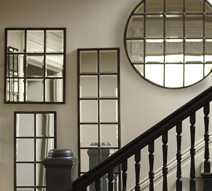 Pottery Barn Eagan Panel Mirror