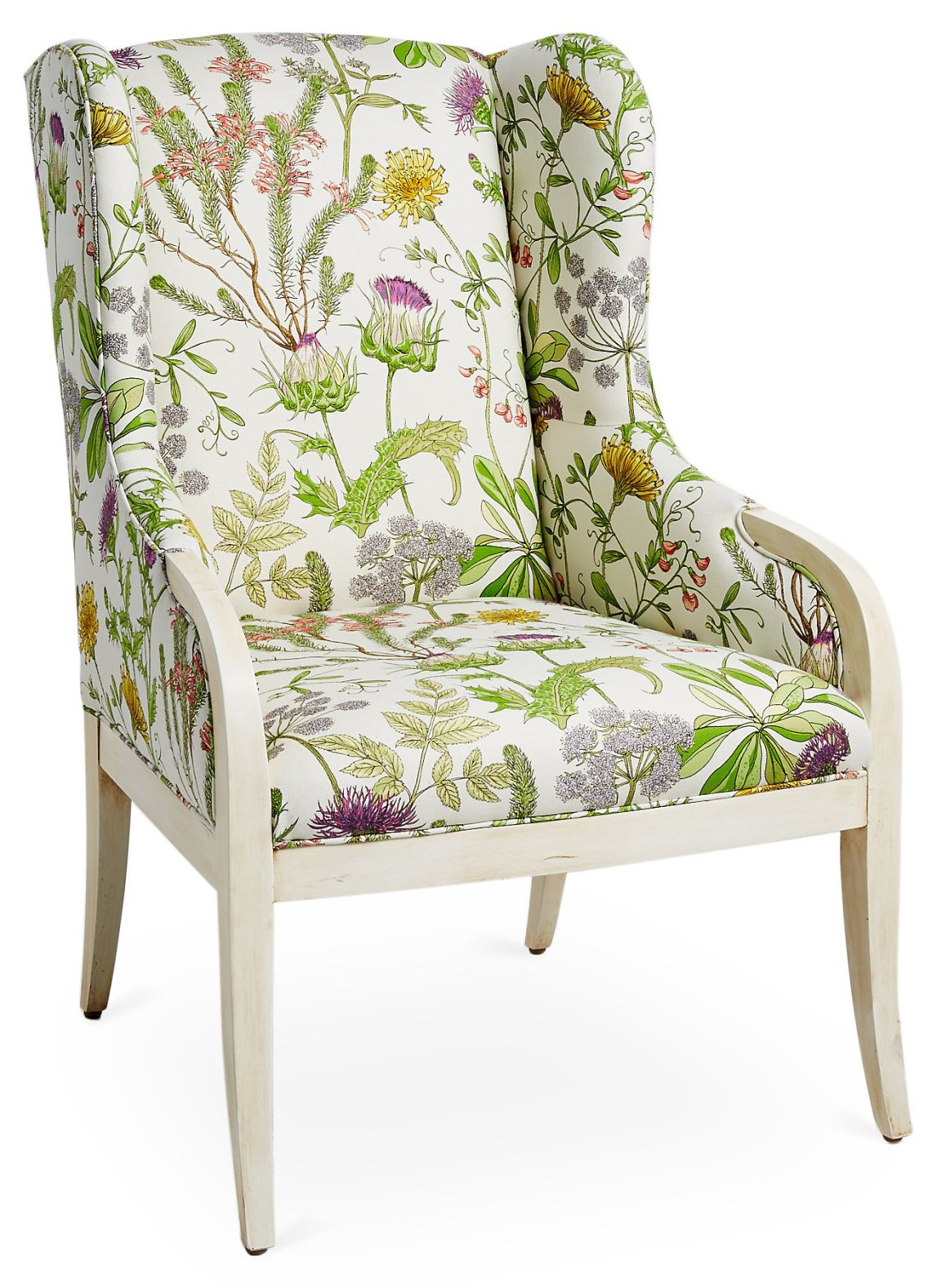 massoud-floral-armchair