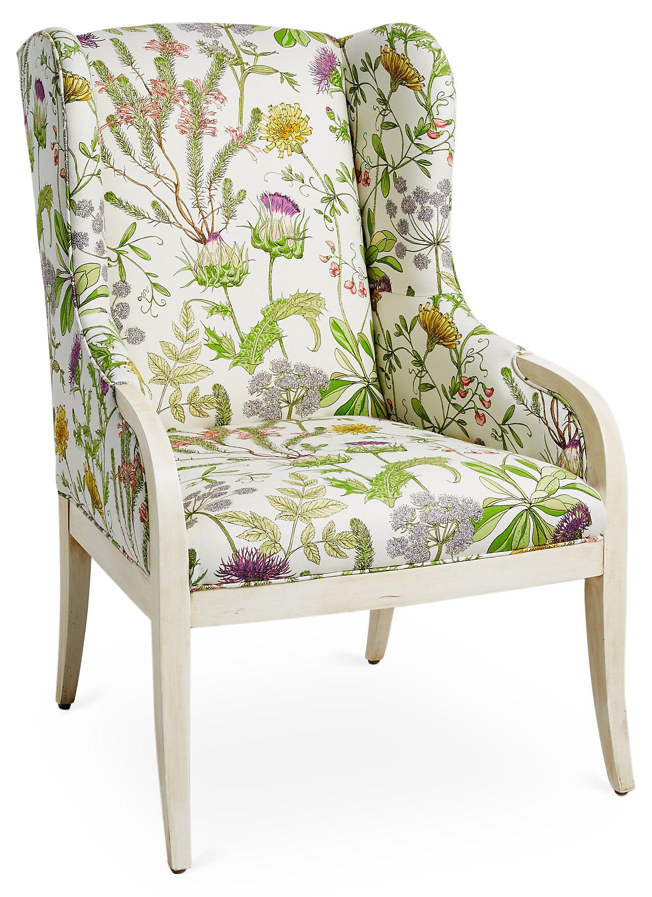 massoud-floral-armchair