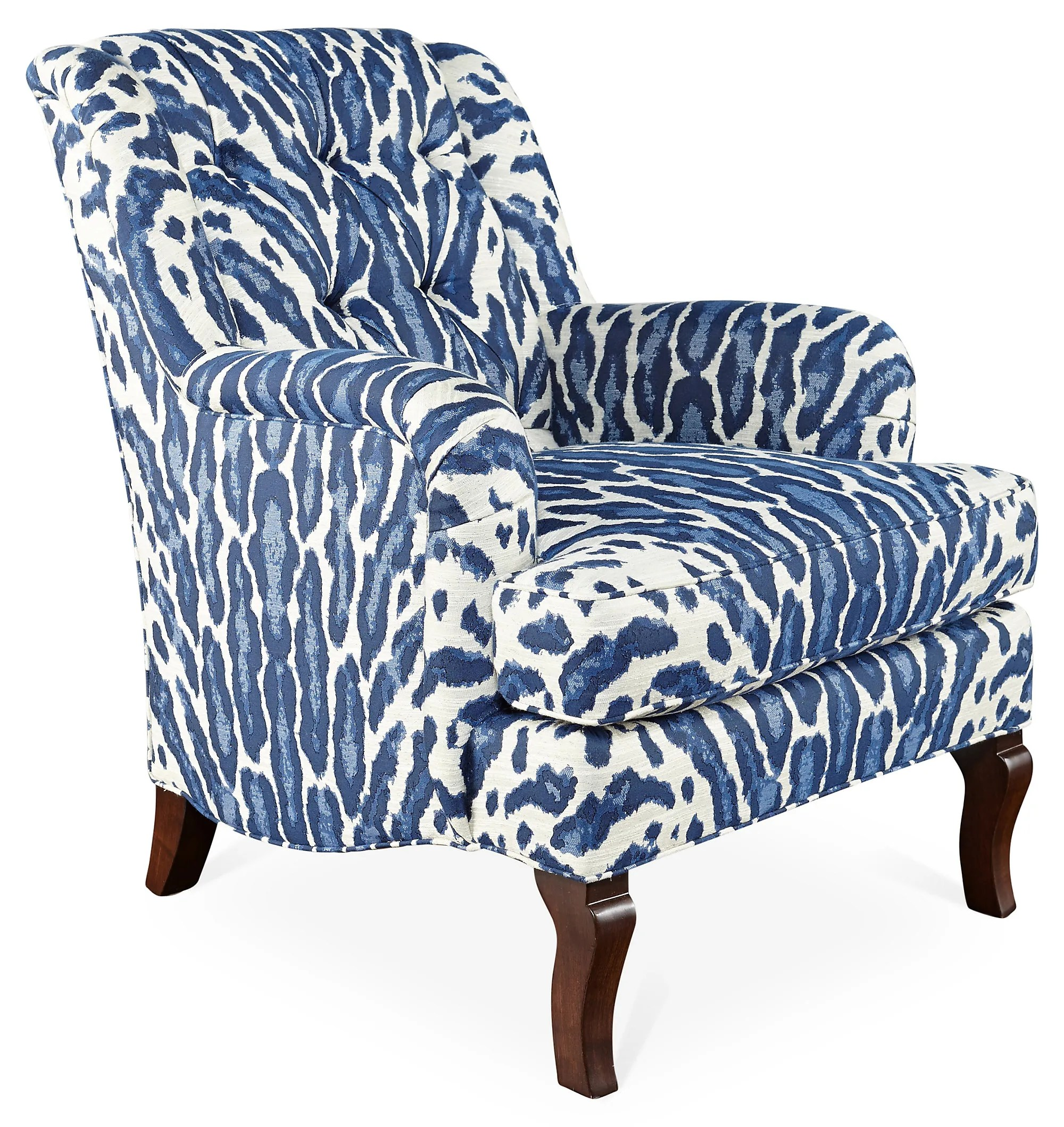 michael-thomas-blue-leopard-club-chair