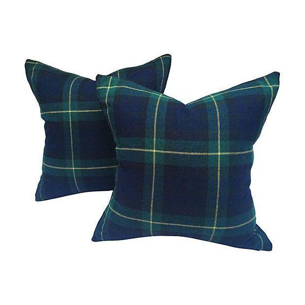 Blackwatch Pillows via Treasure Trove, $325