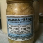 Organic Four Thieves Kraut