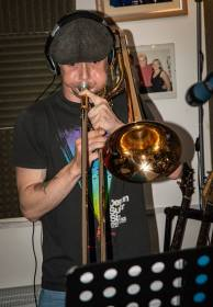 Brass Monkees Recording Studio Trombone Recording