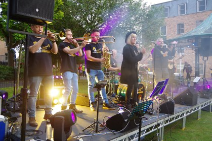 Brass Monkees Function Band Wrexham