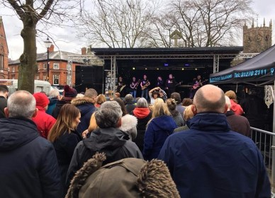 Brass Monkees Nantwich Jazz Festival 2018 On Stage 4