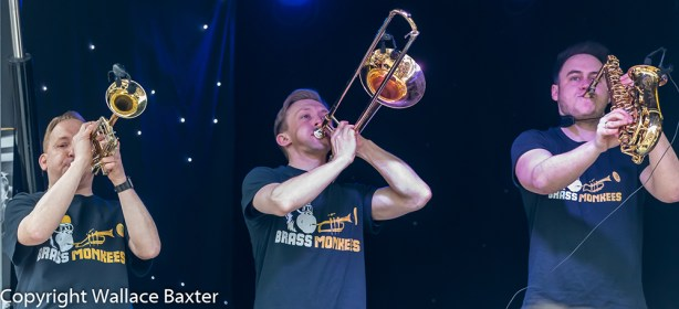 Brass Monkees Nantwich Jazz Festival 2018 Brass Section