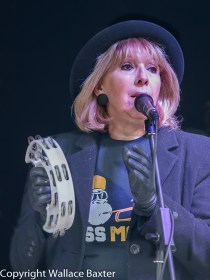Brass Monkees Nantwich Jazz Festival 2018 Singer 1