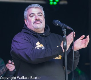 Brass Monkees Nantwich Jazz Festival 2018 Singer 2