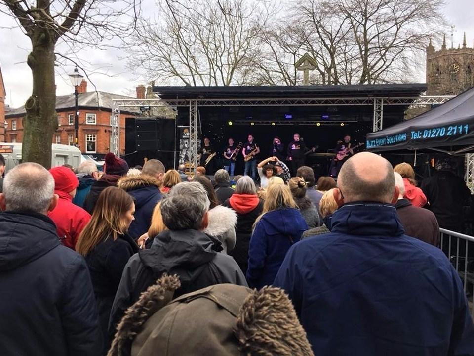 Brasss Monkees Nantwich Jazz Festival 2018 1
