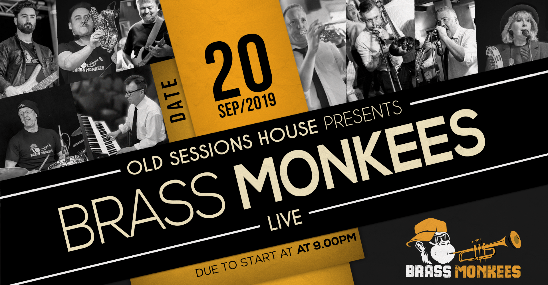 Brass Monkees Old Sessions House