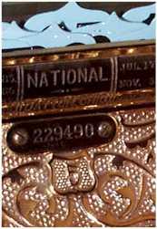 NCR Serial Number