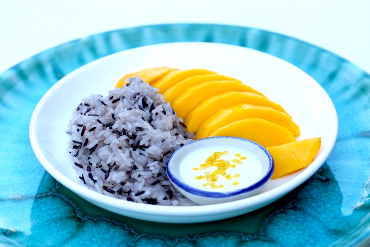 Mango & Sticky Rice Dessert
