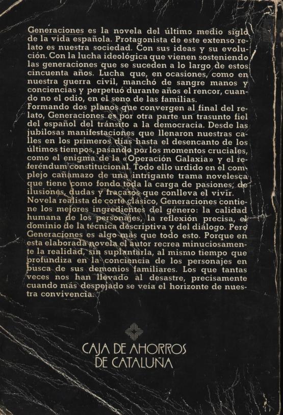 Generaciones - Cristóbal Zaragoza