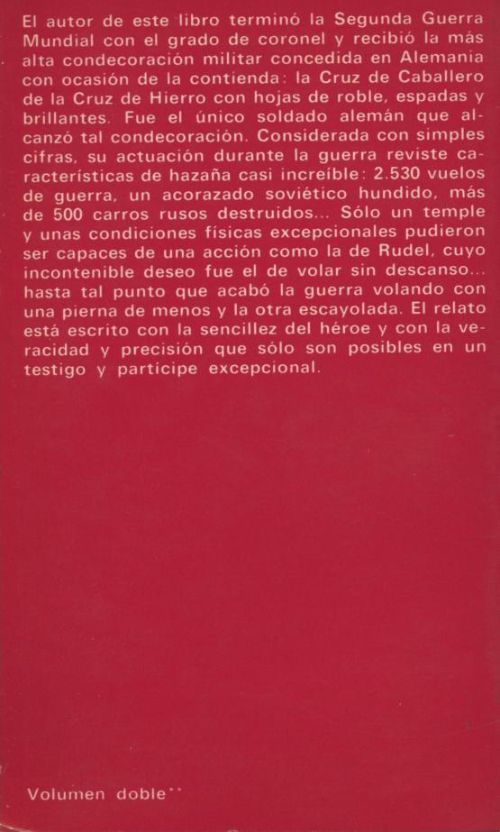Piloto de Stukas - Hans U. Rudel