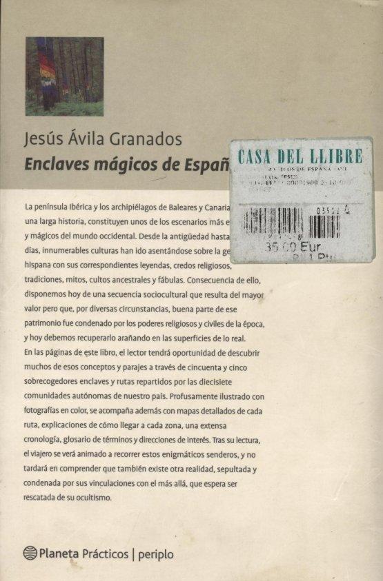 Enclaves mágicos de España - Jesús Ávila Granados a bratac.cat