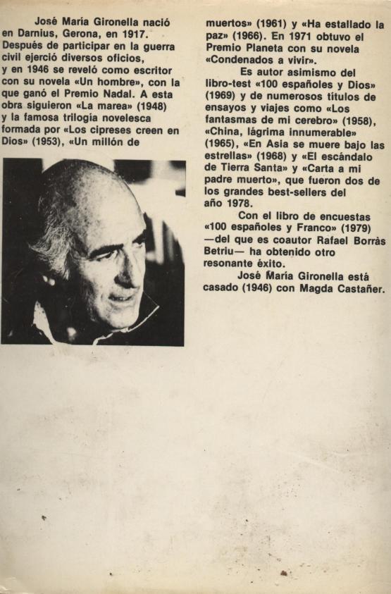Un millón de muertos - José Ma. Gironella